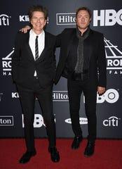 John Taylor and Simon Le Bon of Duran Duran.