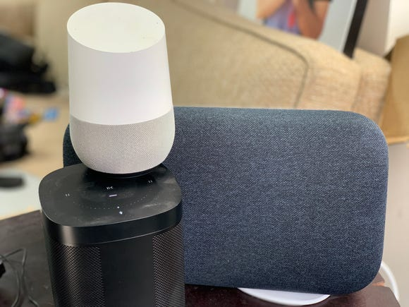 Music speakers from Google and Sonos