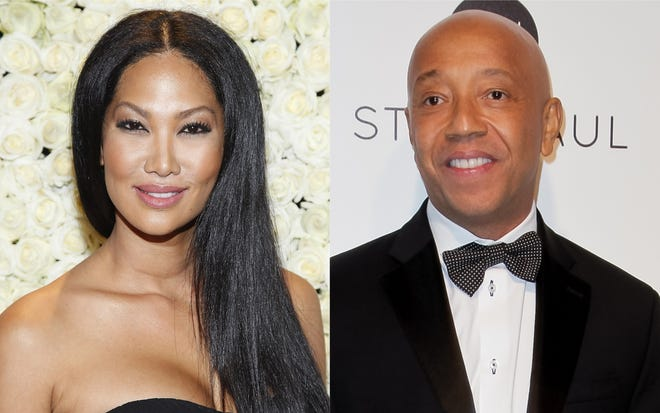 Former spouses Kimora Lee and Russell Simmons