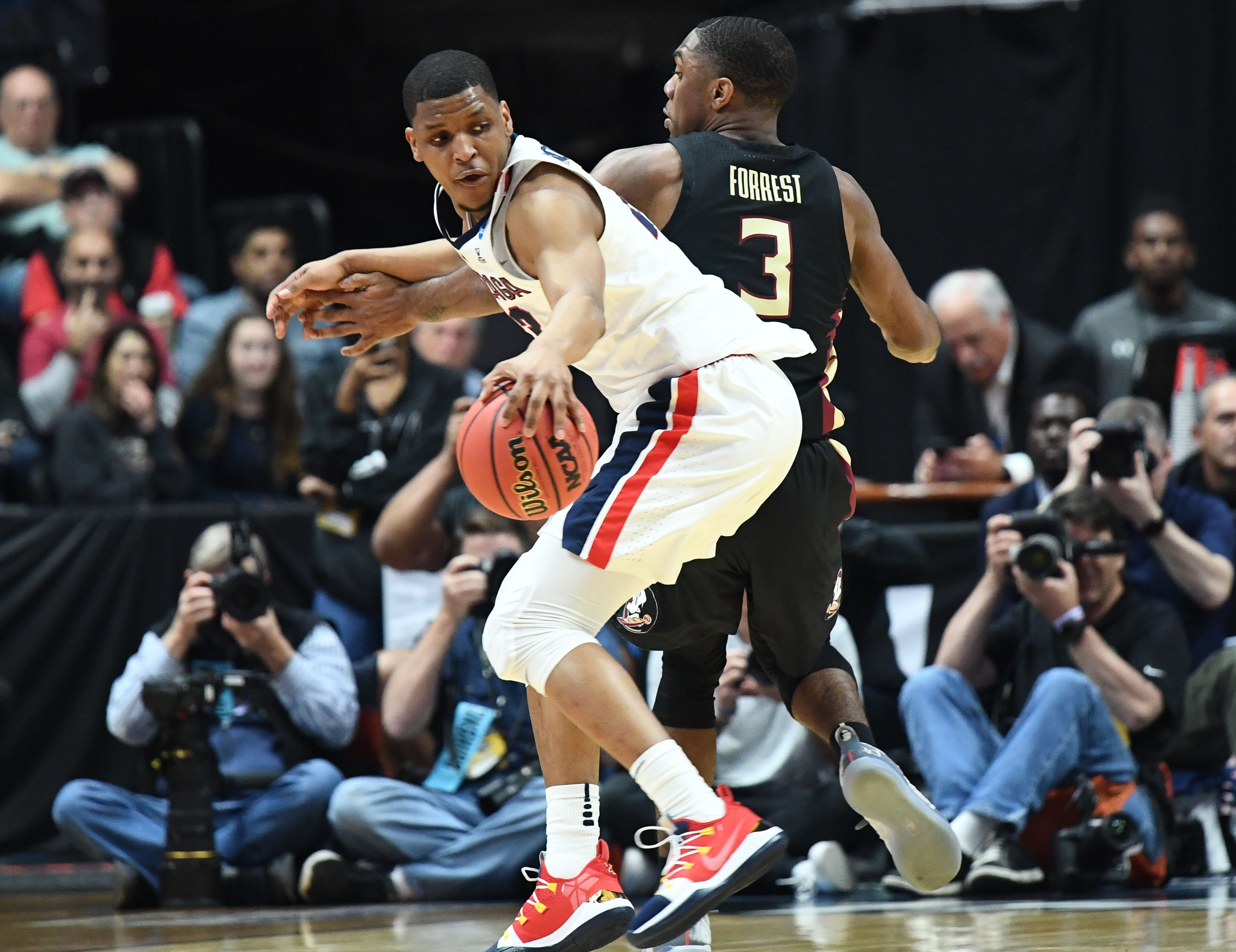 Gonzaga returns to Elite Eight after holding off Florida State