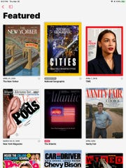 Apple News+ subscription includes 300 magazines.