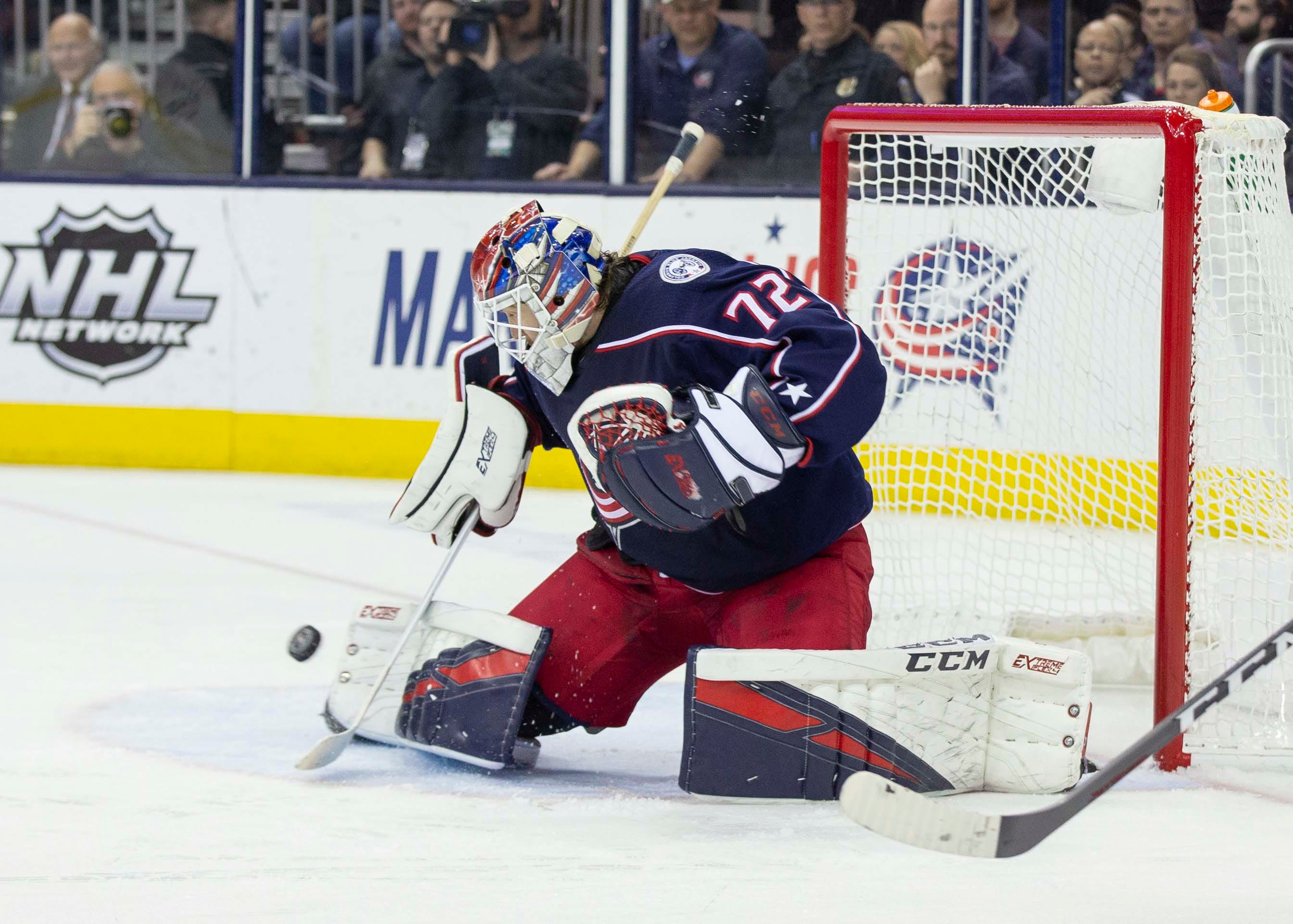 Blue Jackets move into playoff spot with against the Canadiens