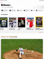 Apple shows you magazines you've been reading inside Apple News+.