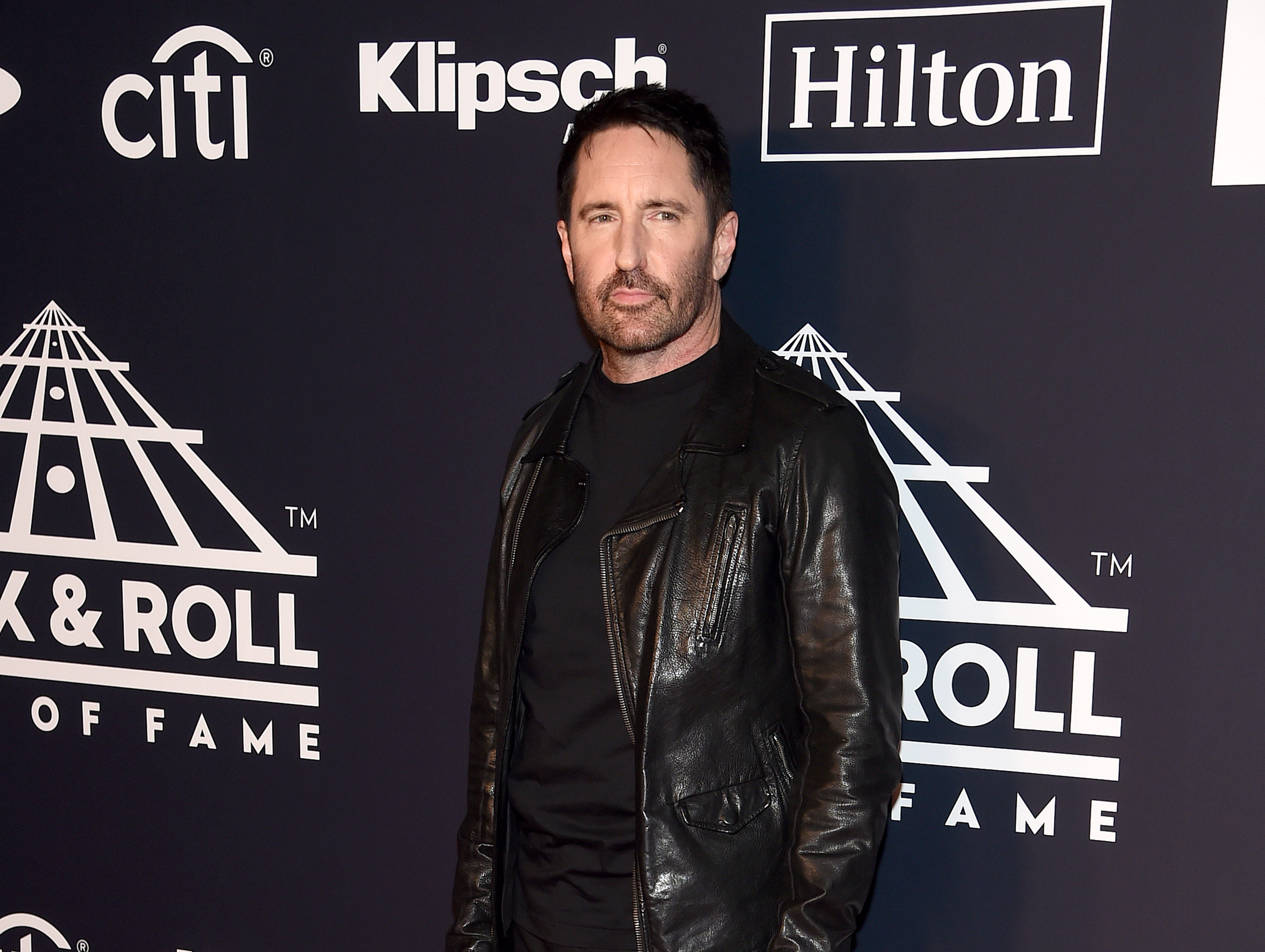 NEW YORK, NEW YORK - MARCH 29: Trent Reznor attends the 2019 Rock & Roll Hall Of Fame Induction Ceremony at Barclays Center on March 29, 2019 in New York City. (Photo by Jamie McCarthy/WireImage) ORG XMIT: 775320639 ORIG FILE ID: 1139163708