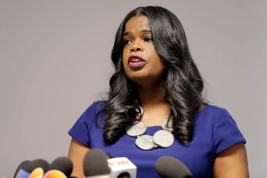 Cook County State's Attorney Kim Foxx at a news conference in Chicago, Feb. 22, 2019.