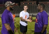 Former Clemson players help at camp for CJ Fuller Foundation