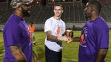 Former Clemson players help at camp for CJ Fuller Foundation