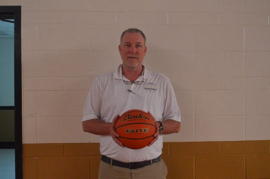 Leesville coach Troy Grigg is one of the 2019 All-Cenla boys basketball Co-Coaches of the Year.