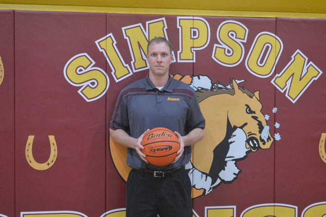 Simpson coach Jade Losavio is one of the 2019 All-Cenla boys basketball Co-Coaches of the Year.