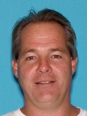 New Jersey driver's license photo of Robert Brower, 45, of Seaside Heights.