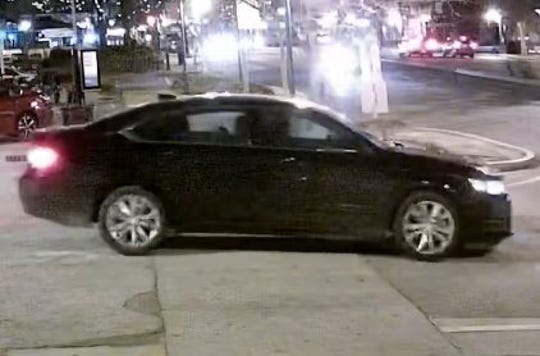 Samantha Josephson, a 21-year-old University of South Carolina student from Robbinsville, was last seen getting into this vehicle early Friday, March 29, 2019 in a restaurant district near the university.