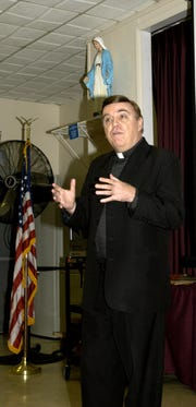 Rev. Msgr. Gregory D. Vaughan in this Asbury Park Press file photo from 2005.