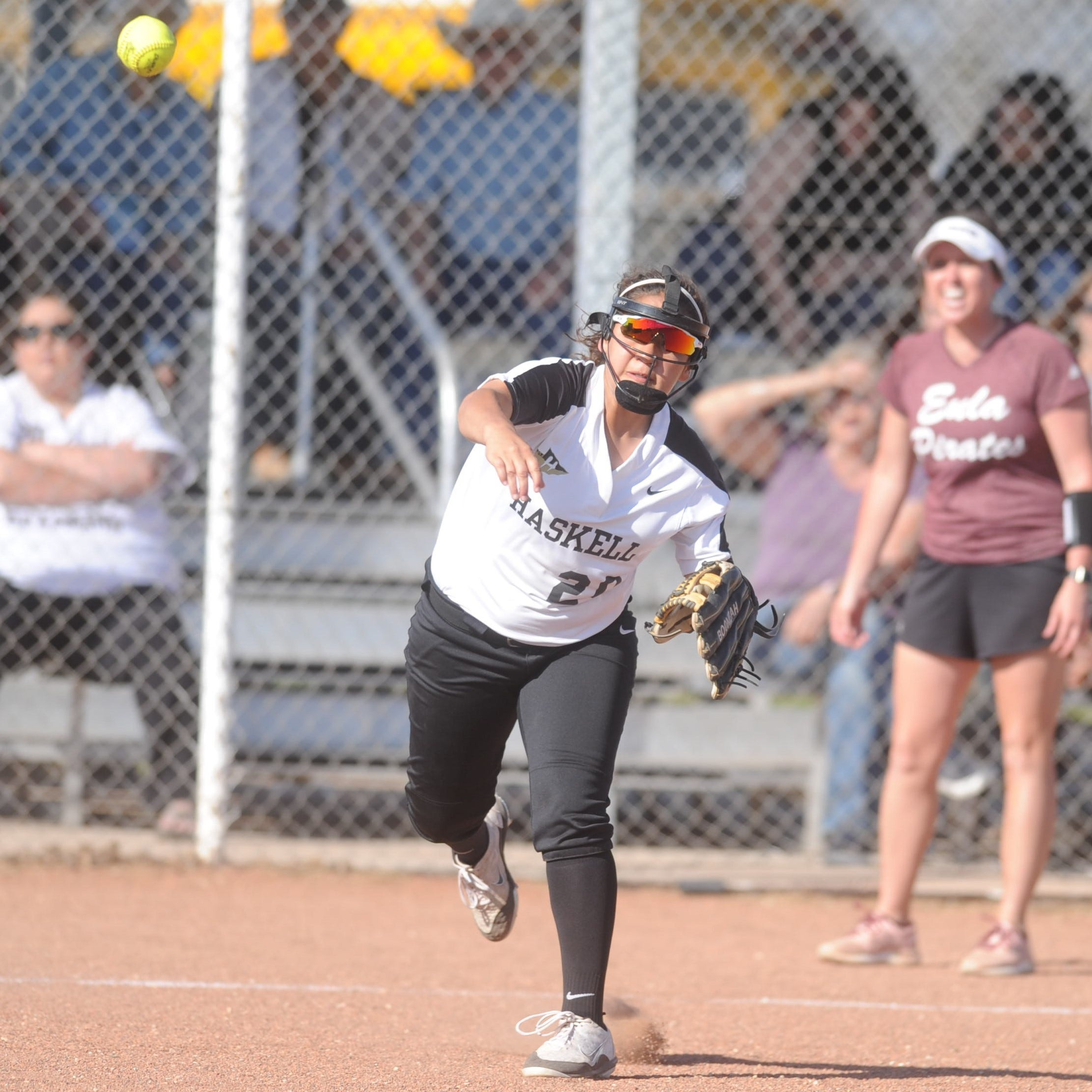 Explosive innings power Haskell past Eula in District 7-2A softball
