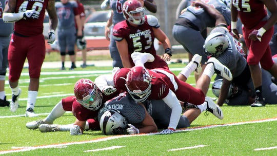 Florida Tech was in action during its spring football game
