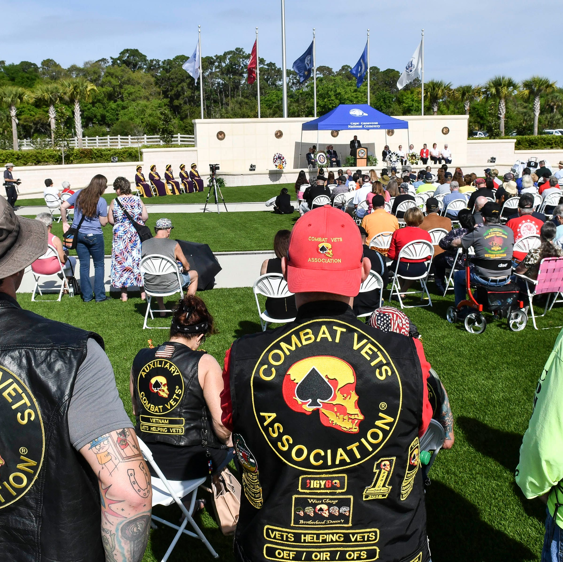 Vietnam War 50th anniversary ceremony honors service, sacrifice at Cape Canaveral cemetery