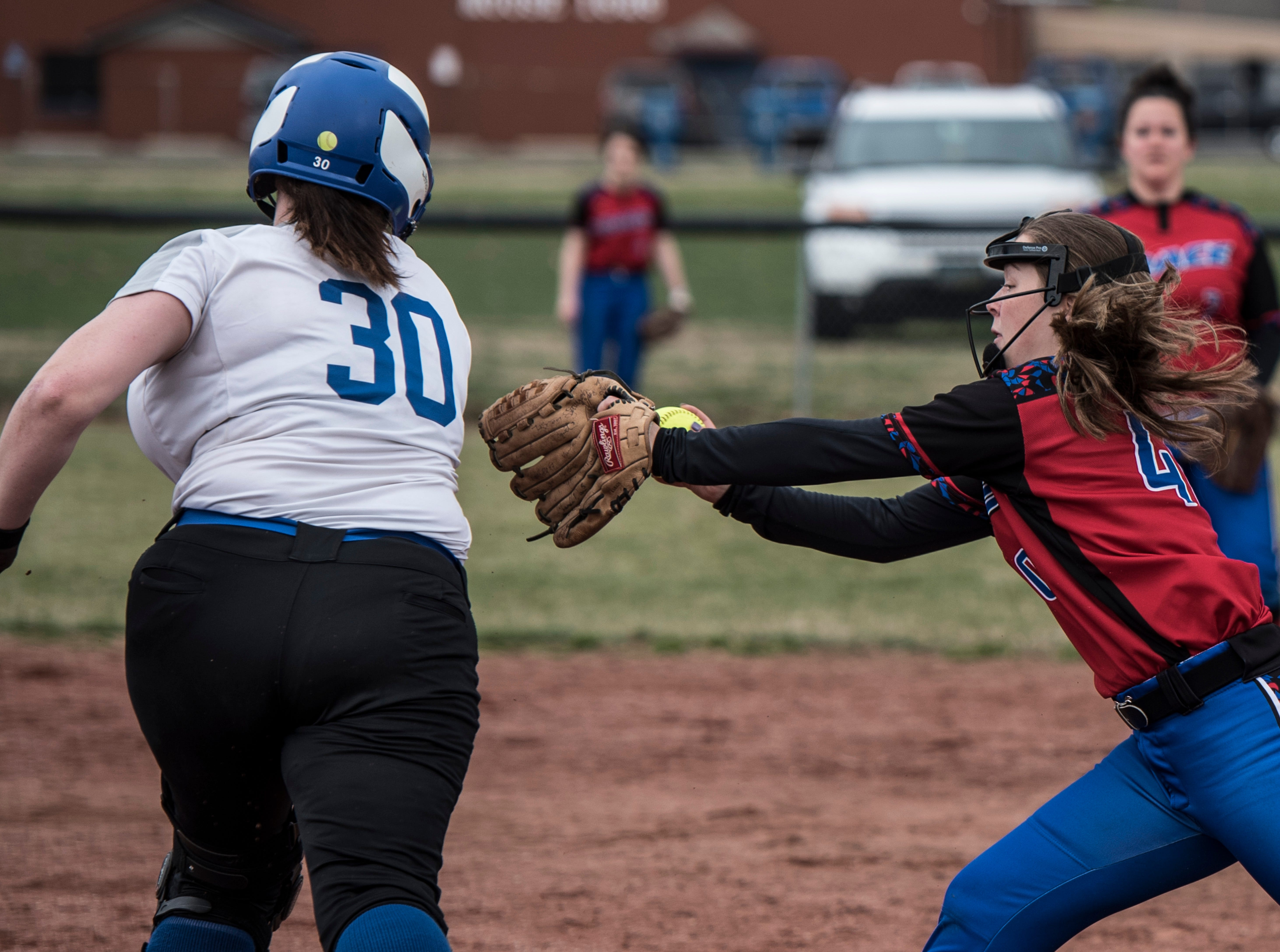 Zane Trace defeated Chillicothe 10-7 Saturday morning at Mt. Logan Elementary School during the first game of their double header. Chillicothe went on to win the second game 13-3.
