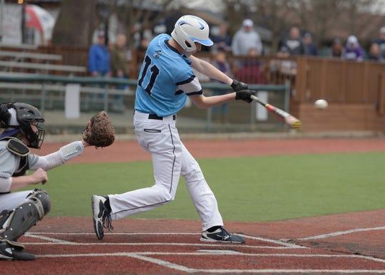 Adena baseball beat Westfall 2-1 behind Jarrett Garrison's complete game on Monday.