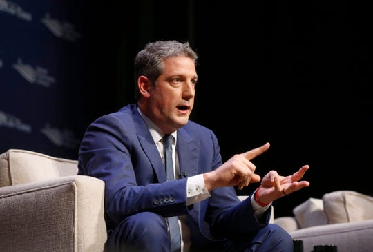 U.S. Representative Tim Ryan, D-Ohio, announced Thursday he's running for president.