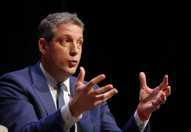 U.S. Rep. Tim Ryan, an Ohio Democrat, kicked off his 2020 presidential campaign in Youngstown on Saturday.