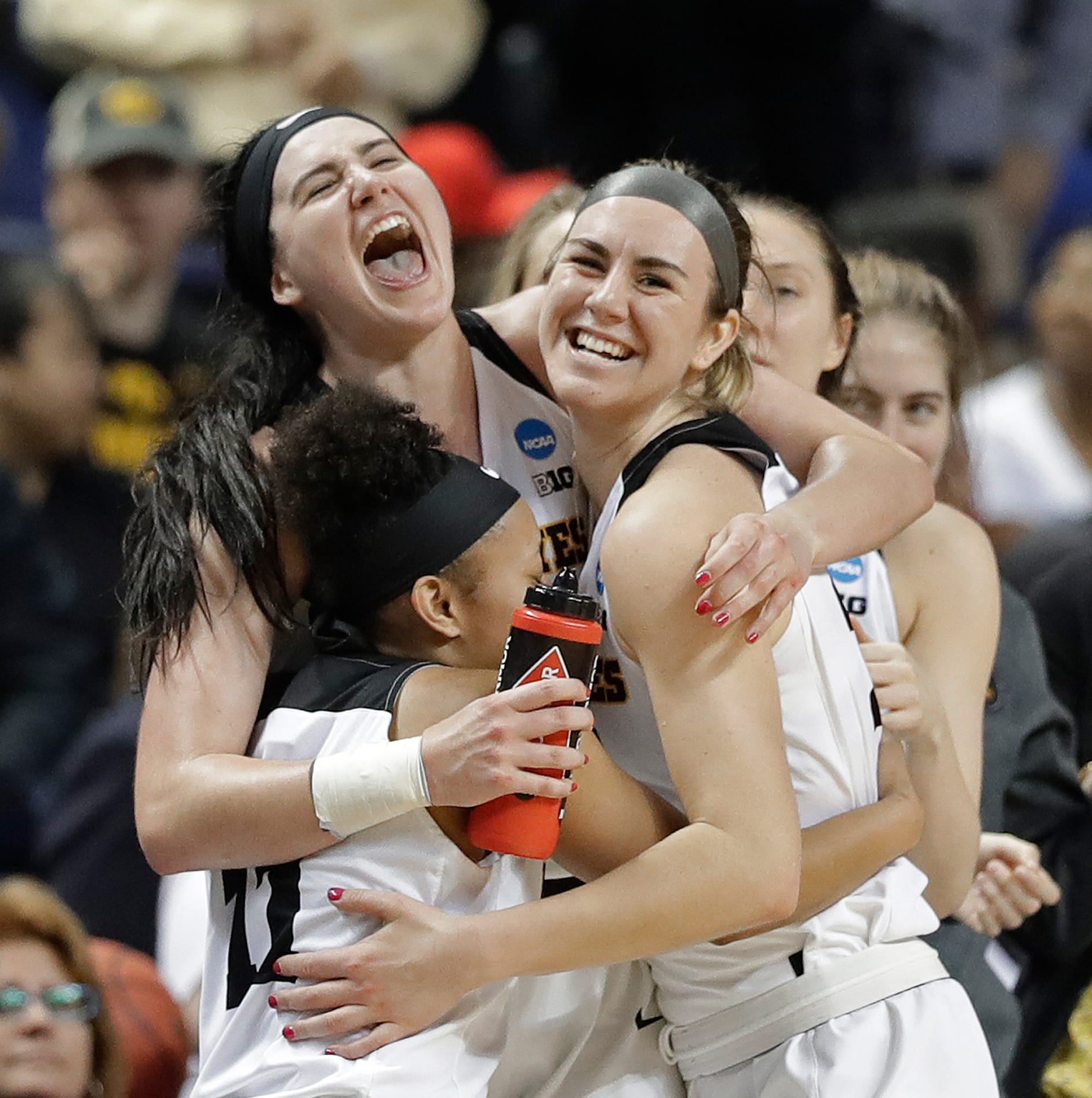 'Peaking at the right time': Iowa buries North Carolina State to reach first Elite Eight in 26 years