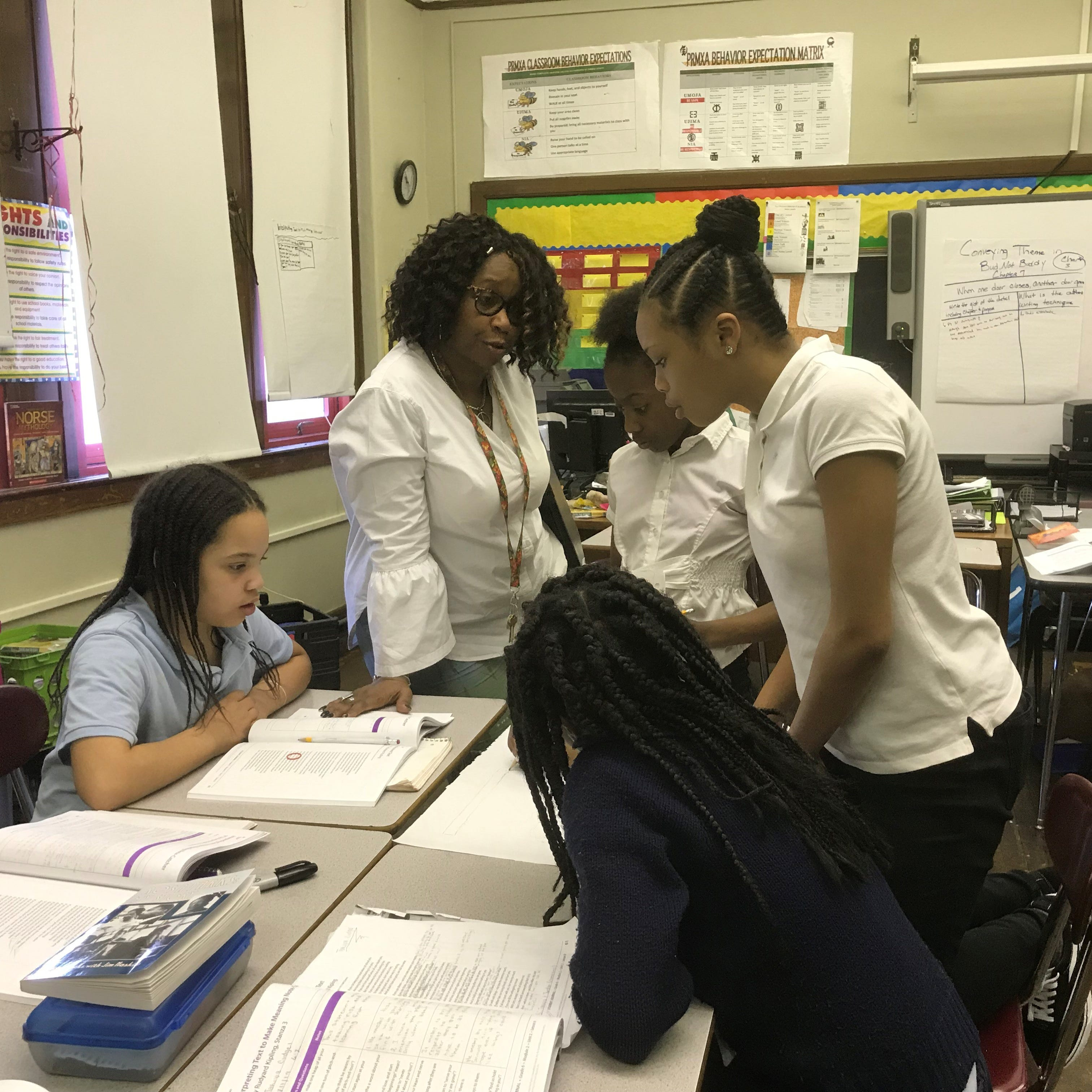 Detroit schools use African-centered studies to foster academic success