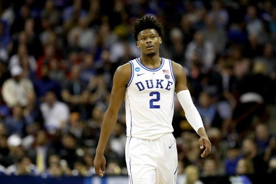 Duke forward Cam Reddish.