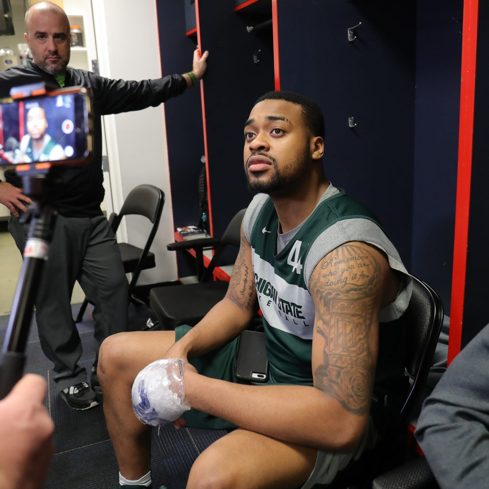 Michigan State's Nick Ward: Nothing will keep me from playing vs. Duke