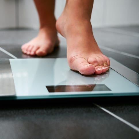 Wife's extreme weight loss tilts the marriage
