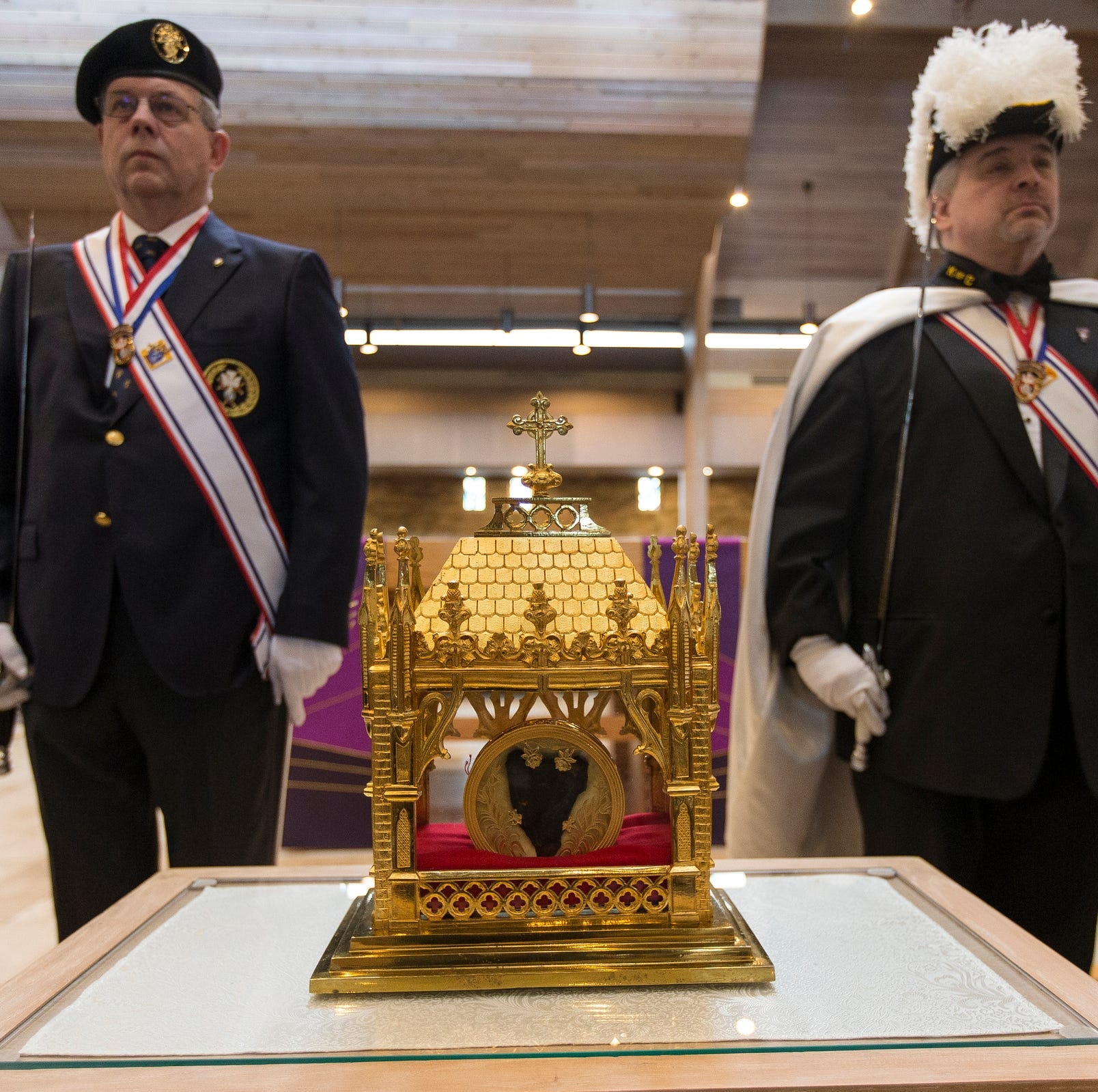 Physical heart of St. John Vianney displayed at churches in metro Detroit