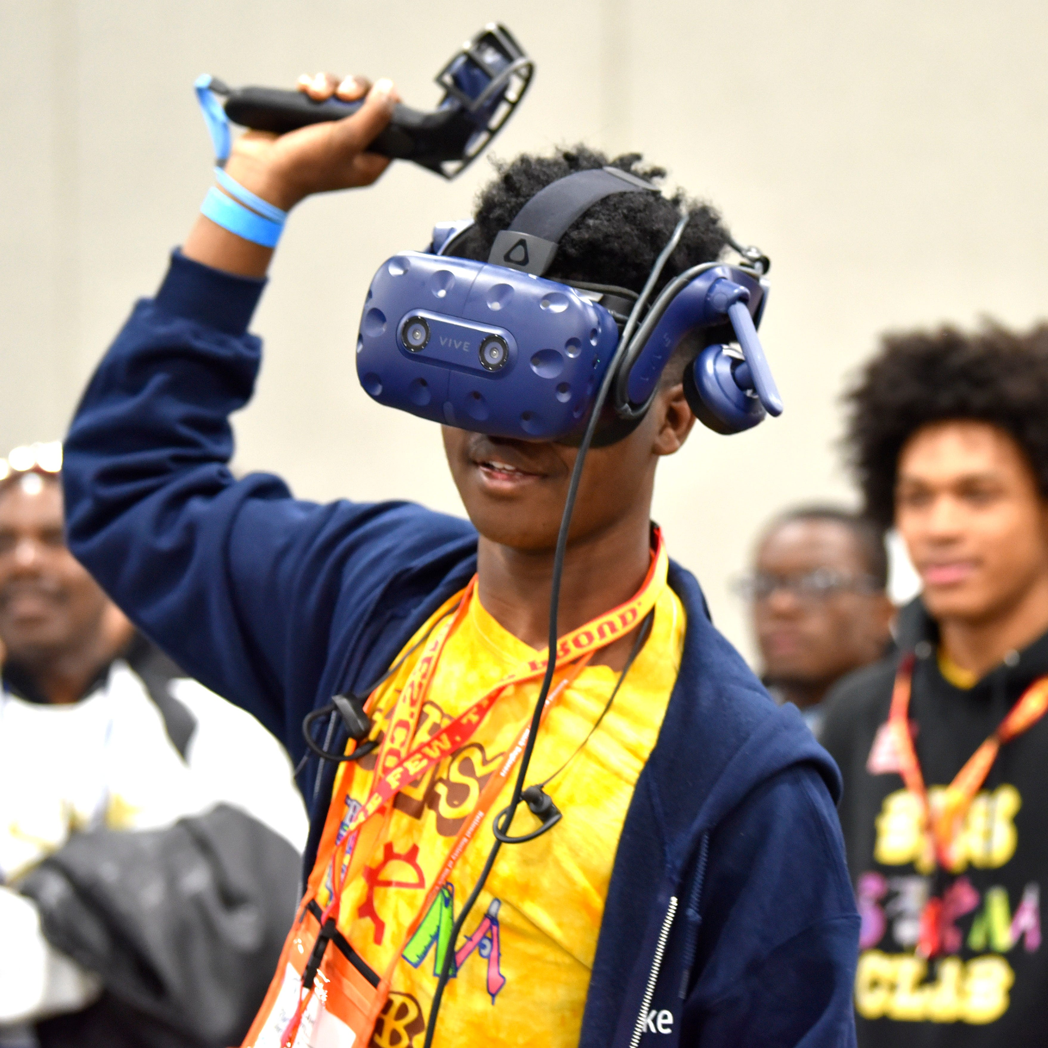 Students envision new careers at STEAMfest in Detroit