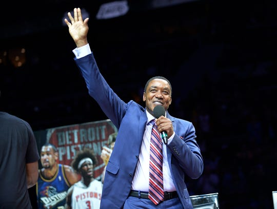 """Isiah Thomas believes the Pistons' """"Bad Boys"""" era, which included back-to-back NBA titles in 1989 and 1990, is largely forgotten in pro basketball lore."""