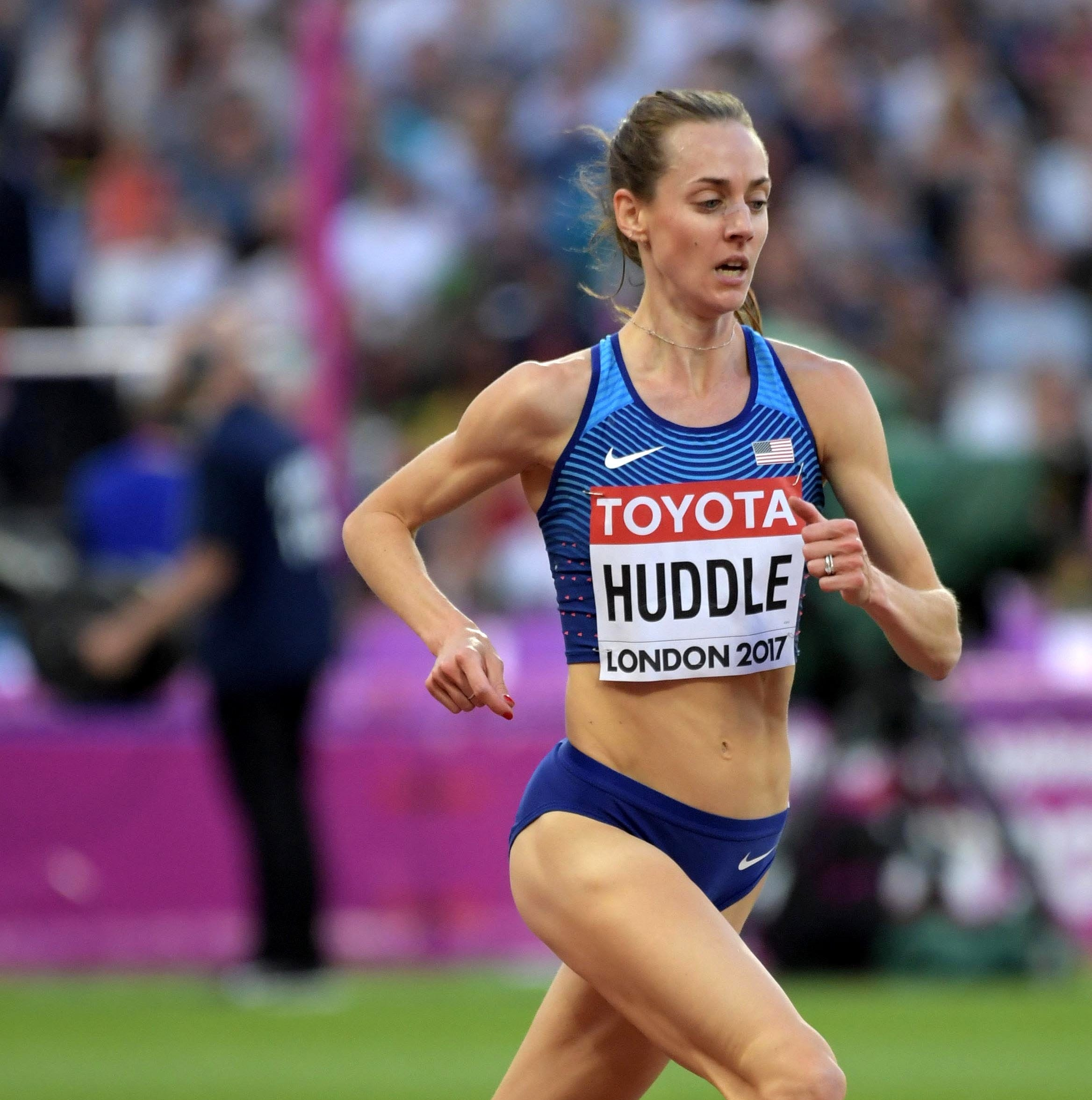 Molly Huddle second in 10K at Stanford Invitational as she gears up for London Marathon