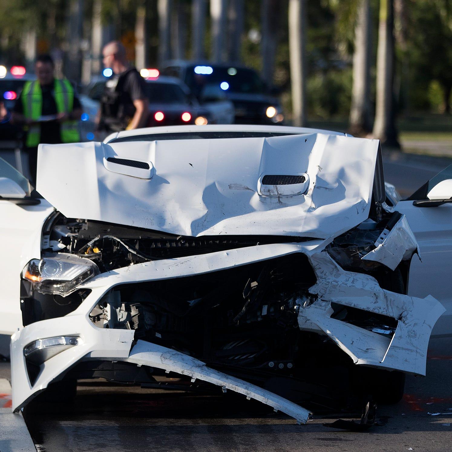 Head-on crash that shut down McGregor leaves two injured