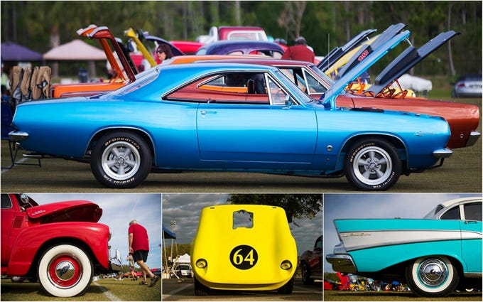 Photos: Can you identify these hot wheels? Car show thrills