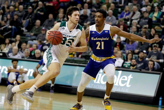 UWGB's Cody Schwartz hopes to add consistency to his game for his senior season.