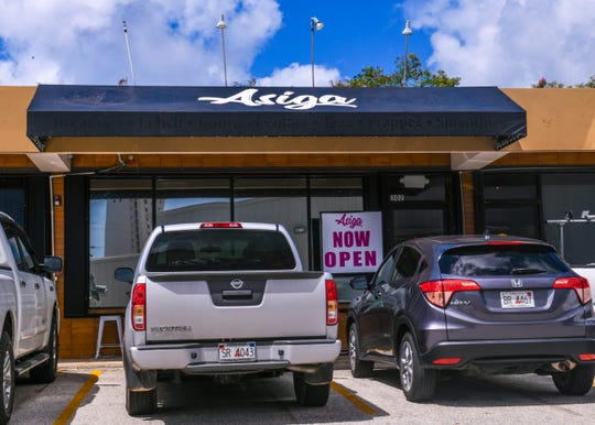 The Asiga cafe in Tamuning on Wednesday, March 27, 2019.