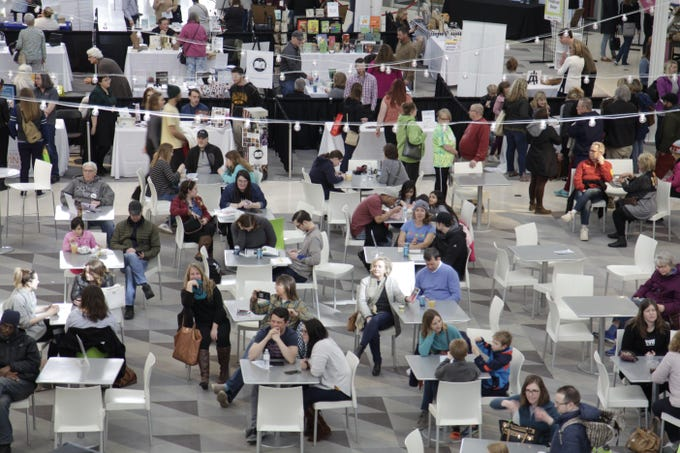 The DSM Book Festival attracted authors, speakers and book lovers downtown on Saturday, March 30, 2019.