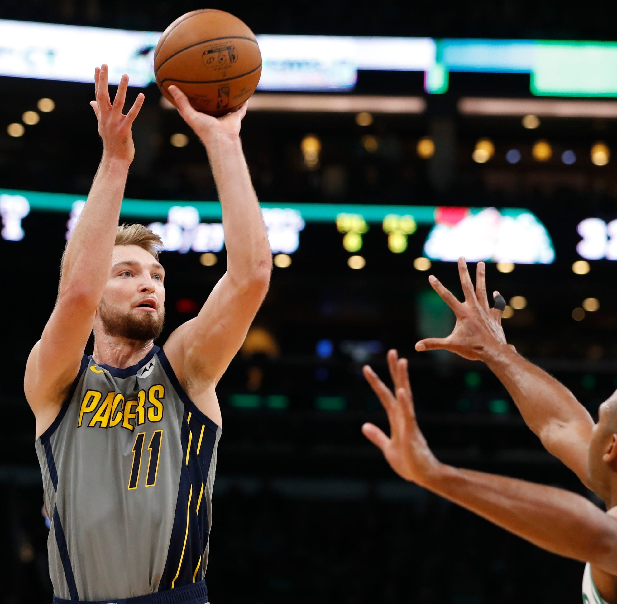 Domantas Sabonis wants a bigger role next year with Pacers. Kevin Pritchard says he'll have one
