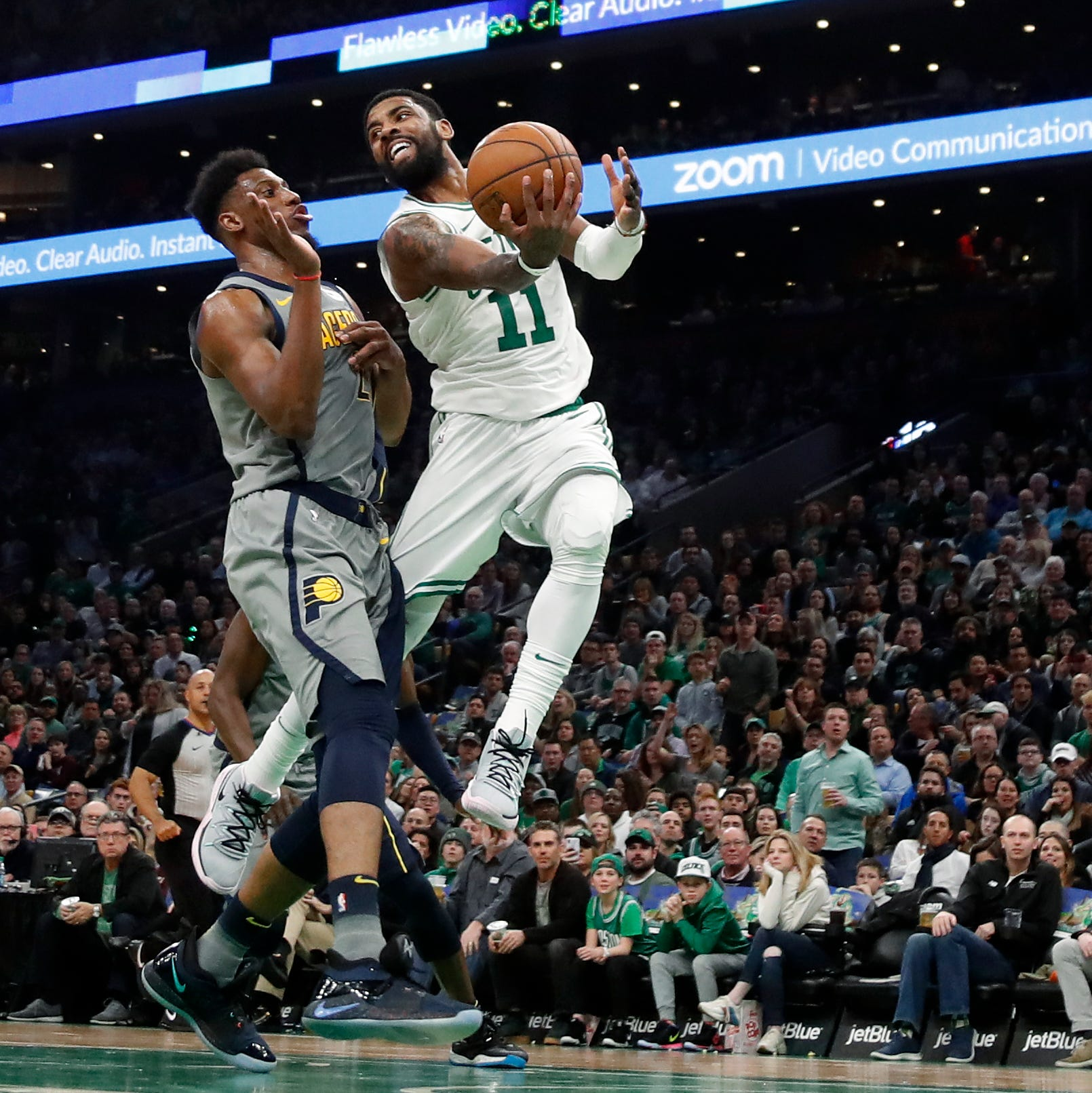 Pacers 'still in the fight' after Celtics take 4th spot on Kyrie Irving's winning layup