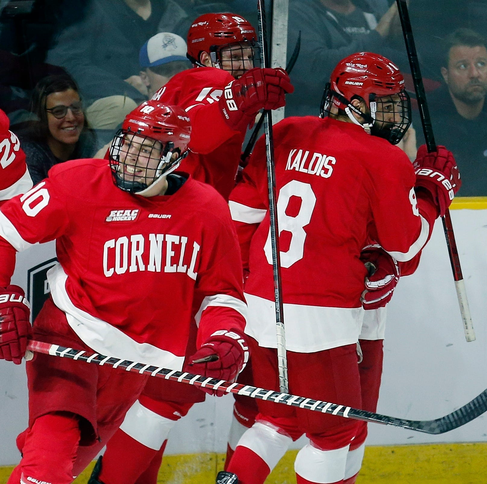Cornell University blows out Northeastern, one win away from Frozen Four