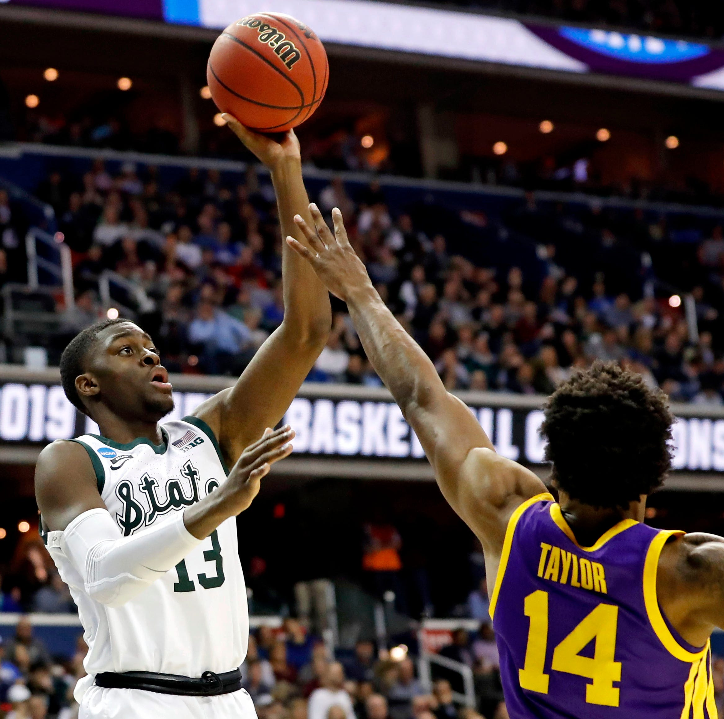 LSU was beaten at its own game of offensive rebounding with a vengeance by Michigan State