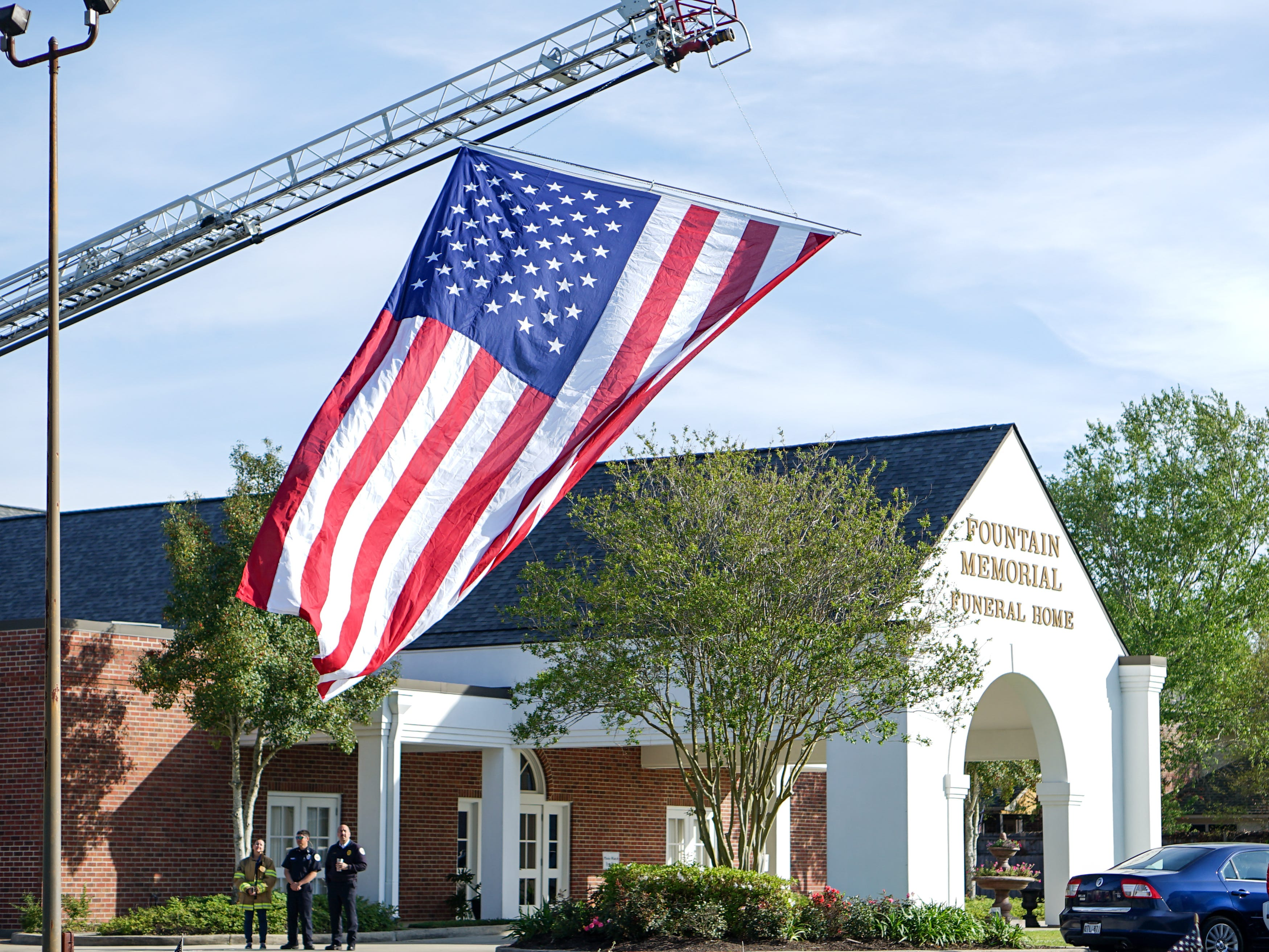 """The """"Welcome Home Vietnam Veterans"""" event is held at Fountain Memorial Funeral Home and Cemetery in Lafayette on Friday, March 29, 2019."""