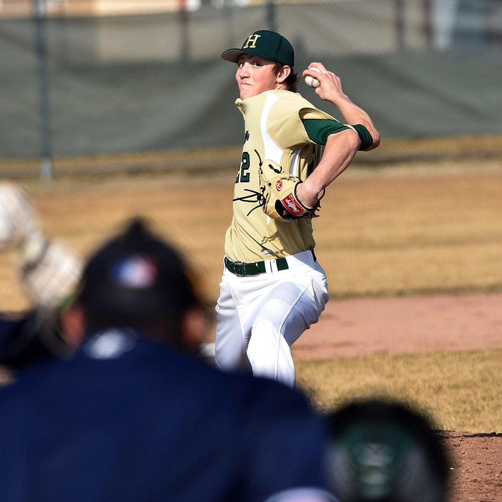 Unbeaten Howell pitches combined baseball no-hitter against Westland John Glenn