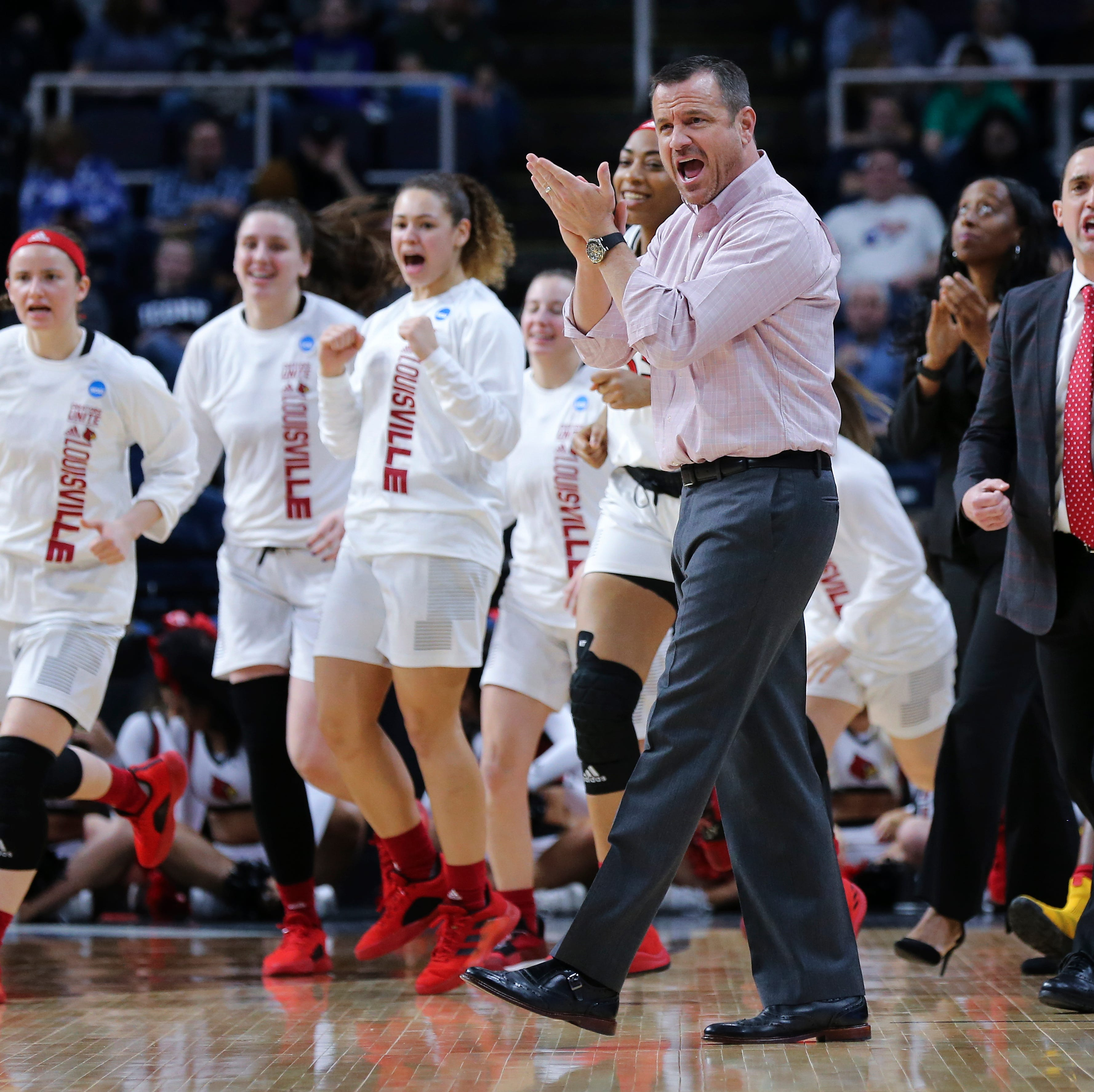 Jeff Walz staying on as the Louisville women's basketball coach
