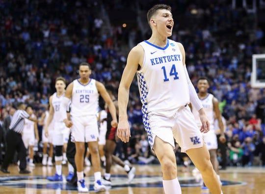 Kentucky guard Tyler Herro has an interesting decision to make.