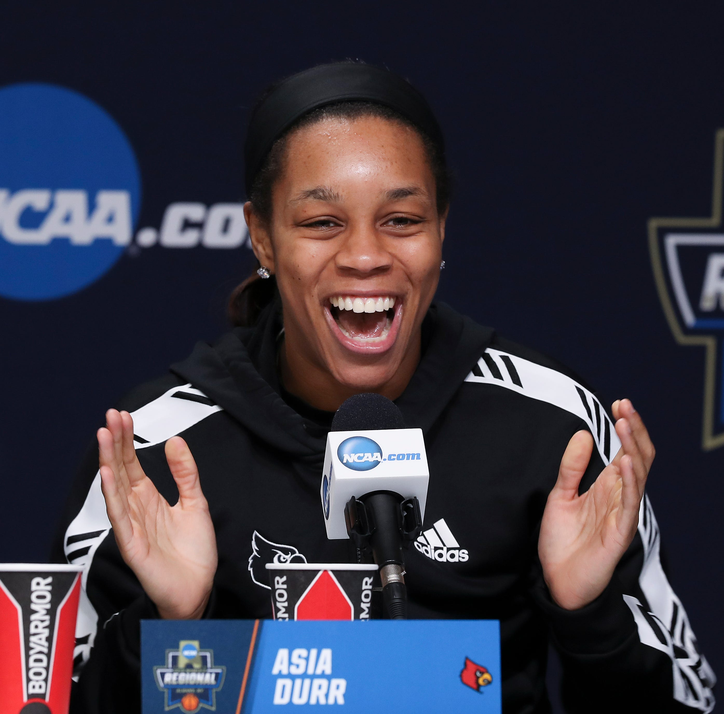 UConn recruited Asia Durr. Here's how she ended up at Louisville instead