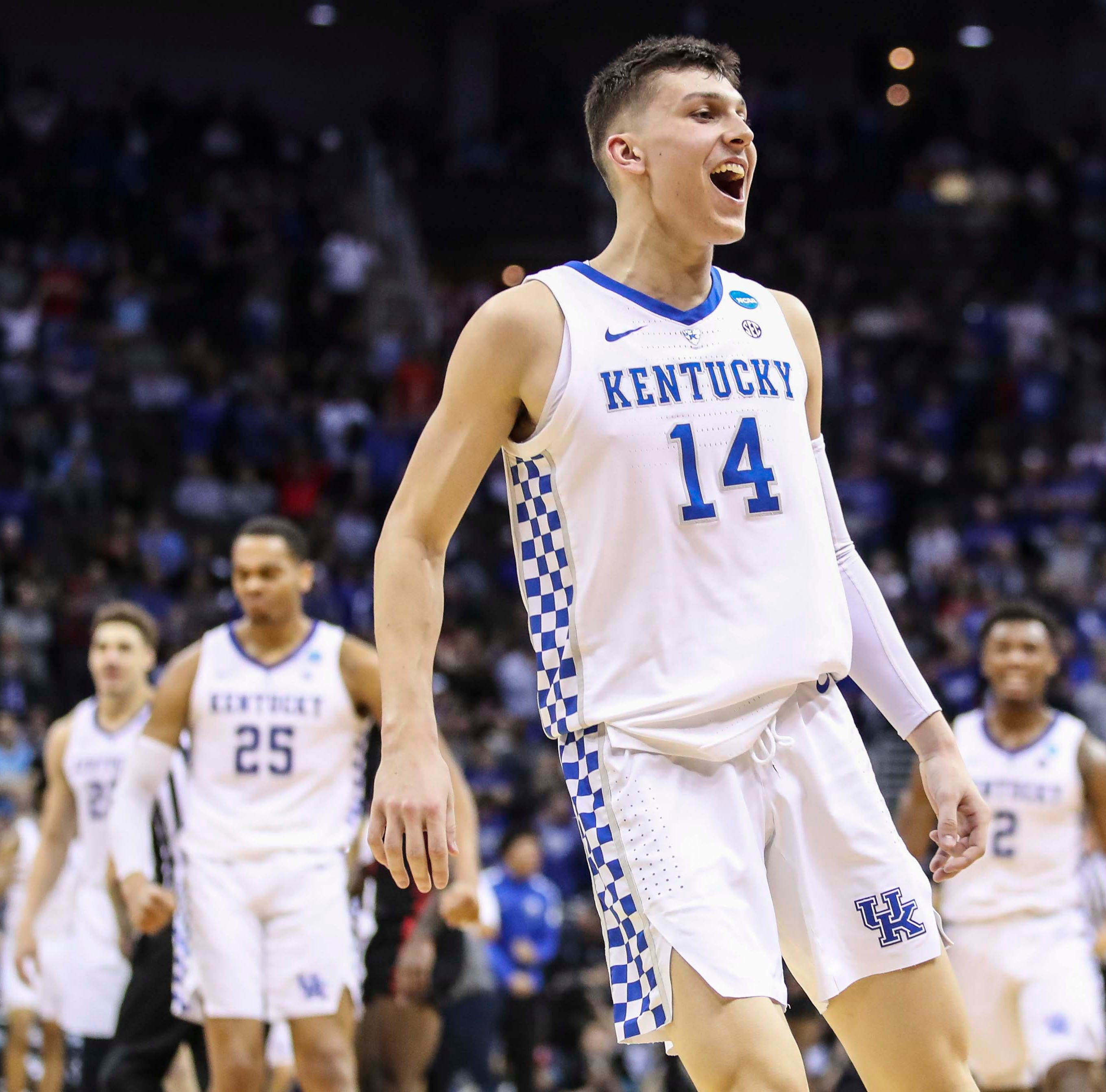 Tyler Herro enters NBA draft but leaves door open for Kentucky return