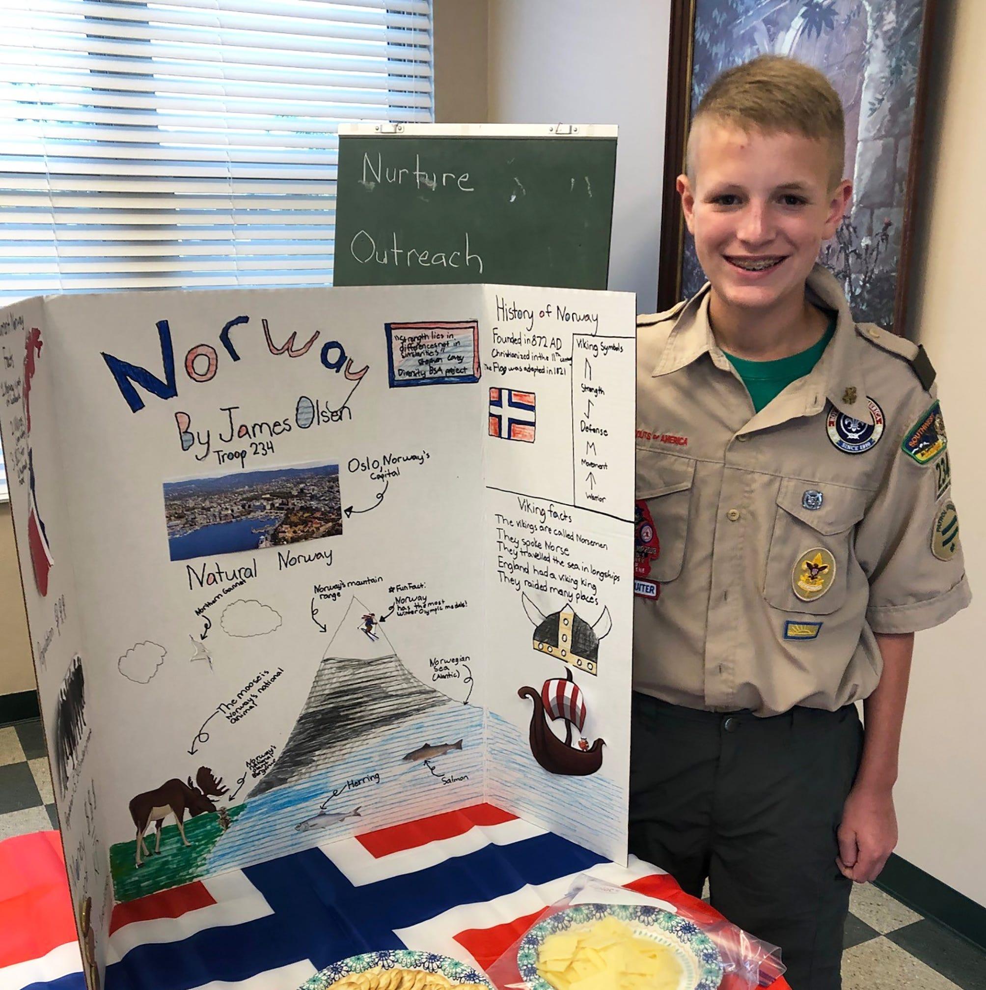 Boy Scout Troop 234 celebrates diversity
