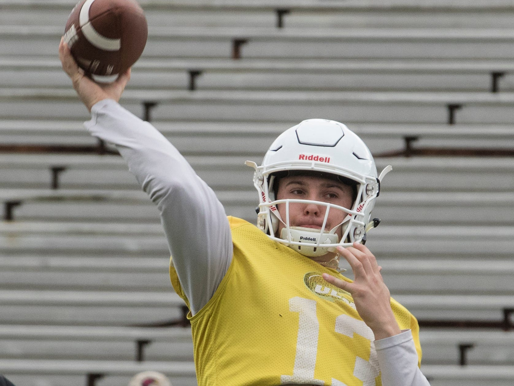 University of Louisiana at Monroe held its Spring Scrimmage at Malone Stadium in Monroe, La. on March 30.