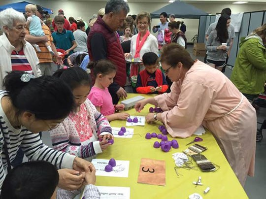 Dozens of children enjoyed an Easter Egg Hunt and related activities in 2018 at Aldersgate  Church. This spring's Easter Egg Hunt will start at 9 a.m. on April 13 at the church's Children's Activity Center. The church is located at 6610 Vaughn Road in east Montgomery.